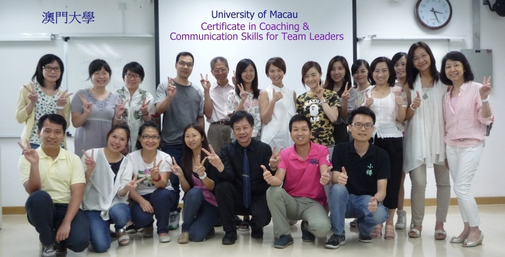 Foundation Coaching for Staff of University of Macau