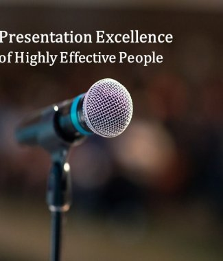 C2043 Workshop on Presentation Excellence of Highly Effective People (Class 6)